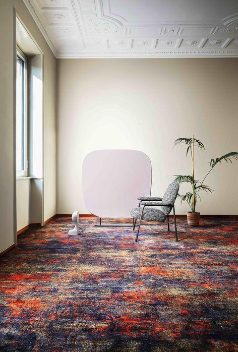 jaki dywan kolorowy dywan melanż wallsandmore walls&more projekotwanie wnętrz architekt wnętrz Warszawa