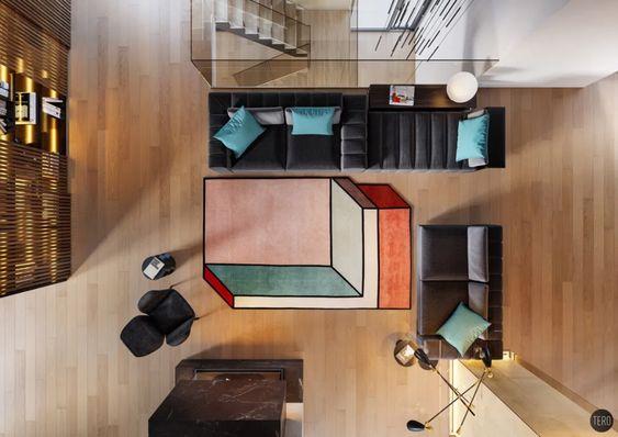 jaki dywan wybrać kolorowy dywan dywan na zamówieniewallsandmore walls&more projekotwanie wnętrz architekt wnętrz Warszawa